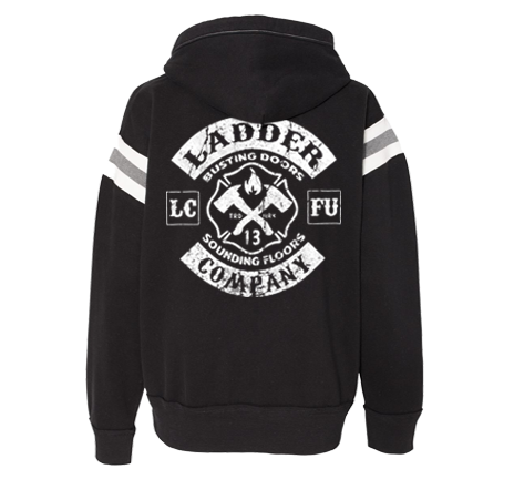 Ladder Company - Vintage Athletic - Black Hoodie