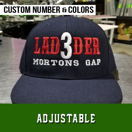 FD Ladder Custom Hat - Adjustable
