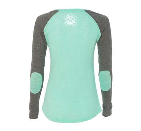 Love Preppy Patch Long Sleeve Tee