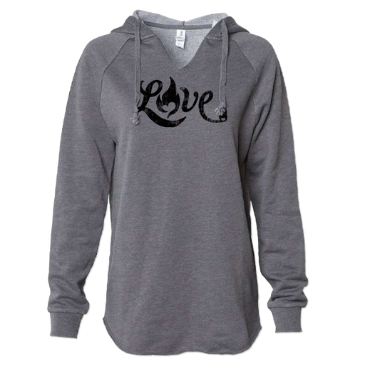 Love - Lightweight Hoodie - Shadow