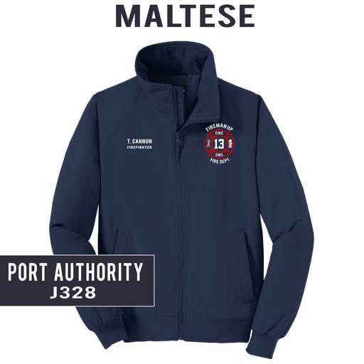 Custom Maltese - Port Authority - Charger Jacket