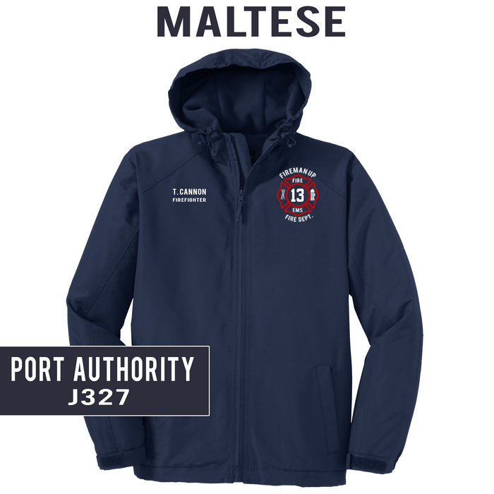 Custom Maltese - Port Authority - Hooded Charger Jacket