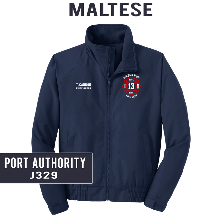 Custom Maltese - Port Authority - LIGHTWEIGHT Charger Jacket