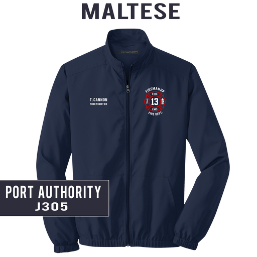 Custom Maltese - Port Authority - LIGHTWEIGHT Essential Jacket