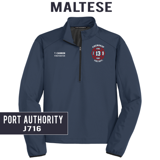 Custom Maltese - Port Authority - Active 1/2-zip Soft Shell Jacket