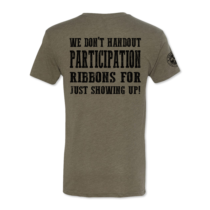 No Participation Ribbons - Men's Tri Blend Tee
