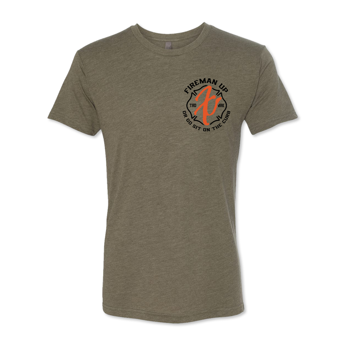 Go Sit On The Curb - Men's Tri Blend Tee