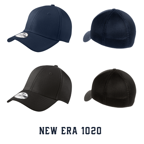 1 Line Custom Hat - New Era Stretch