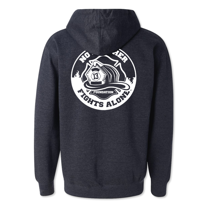 No Brother Fights Alone Logo - Midweight Hoodie