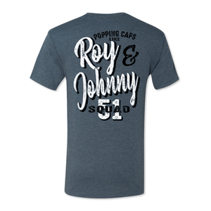 Roy and Johnny - Men's Tri Blend Tee