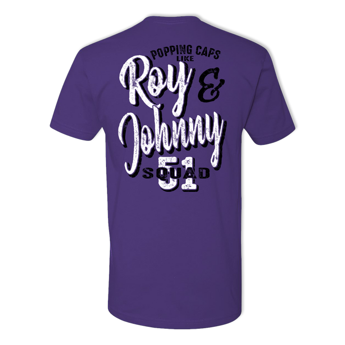 Roy and Johnny - Men's Cotton Tee