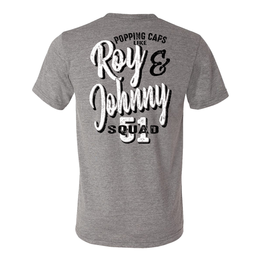 Roy and Johnny - Unisex Tri Blend Tee