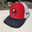 Red White and Blue Maltese Logo - Snapback Trucker Hat
