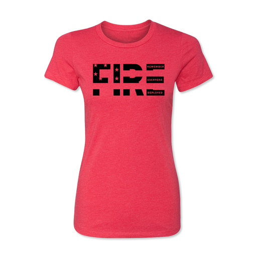 Remember Everyone Deployed - Women's Tee