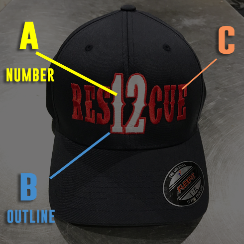 Engine Number Outlined Custom Hat - Snapback Trucker
