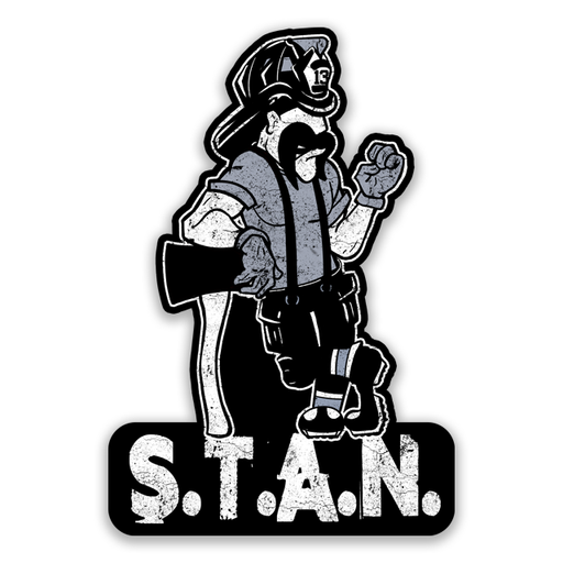STAN Sticker