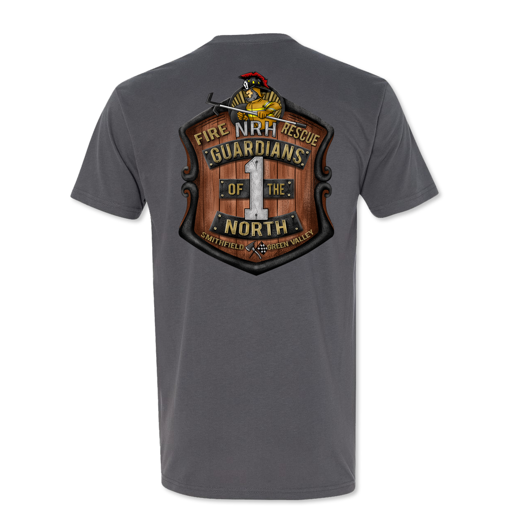 NRH Station 1 - Full Color - Poly Cotton Sueded Tee