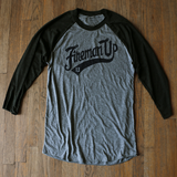 Fireman UP Swoosh Raglan - Black/Grey