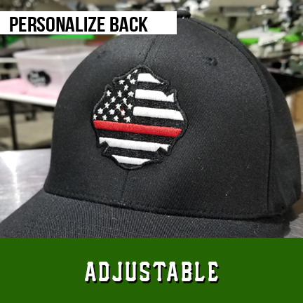 Thin Red Line USA Maltese Custom Hat - Adjustable