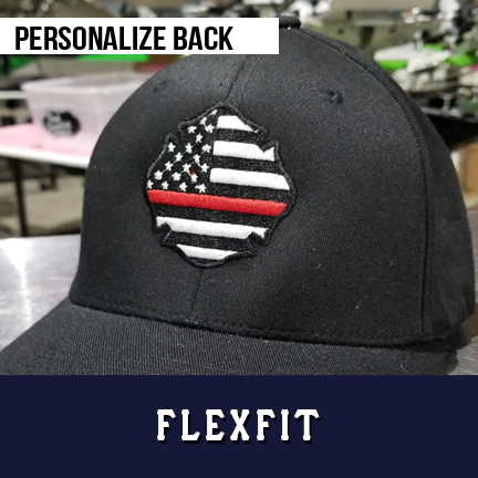 Thin Red Line USA Maltese Custom Hat - Flexfit