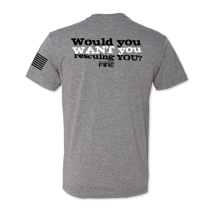 Would You - Men's Tri Blend Tee