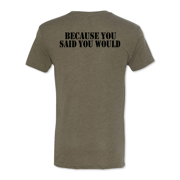 You Said - Honor the Oath - Men's Tri Blend Tee