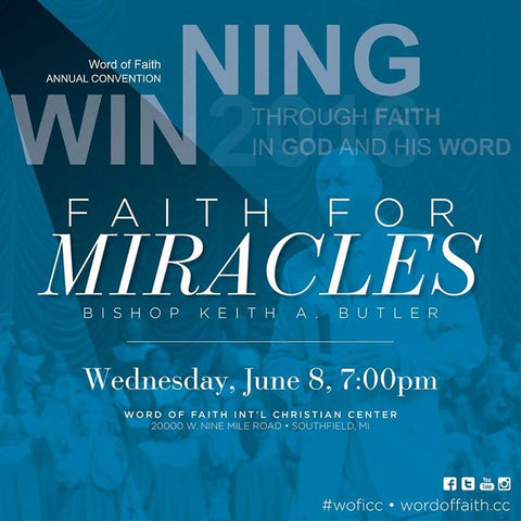 2016 Word of Faith Convention - Session #3
