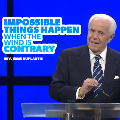 Impossible Things Happen When the Winds are Contrary