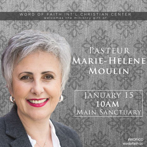 Sunday Morning Service - Pasteur Marie - Helene Moulin