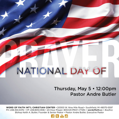 National Day of Prayer - 2016