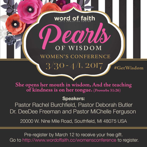 Pearls of Wisdom Women's Conference