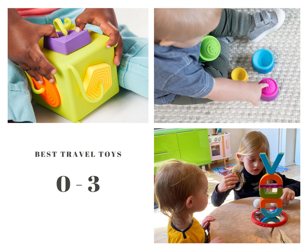Best Infant and Baby travel toys. Oombee cube. Dimpl Stal. Smartmax