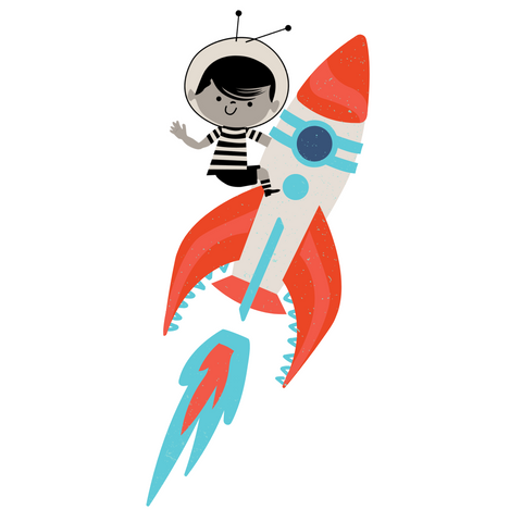 Whiz Kids riding rocket ship into space to find out of this world toys