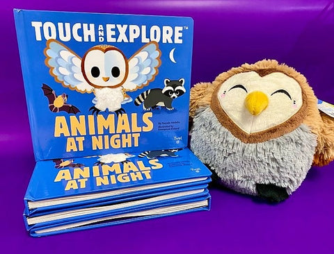Touch and explore with owl