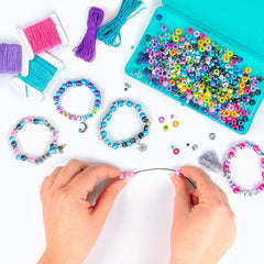 Galaxy Bead Bracelet Making Craft Kit