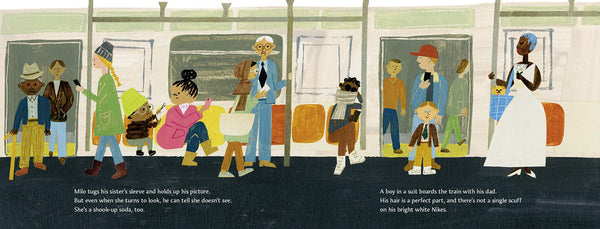 Look inside Milo Imagines the World Picture book