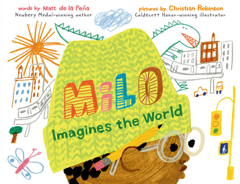 Milo Imagines the World Picture Book for kids