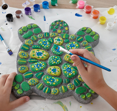 paint your own stepping stone craft kit