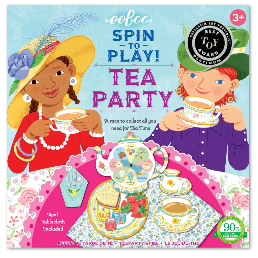 Spin to Play Tea Party