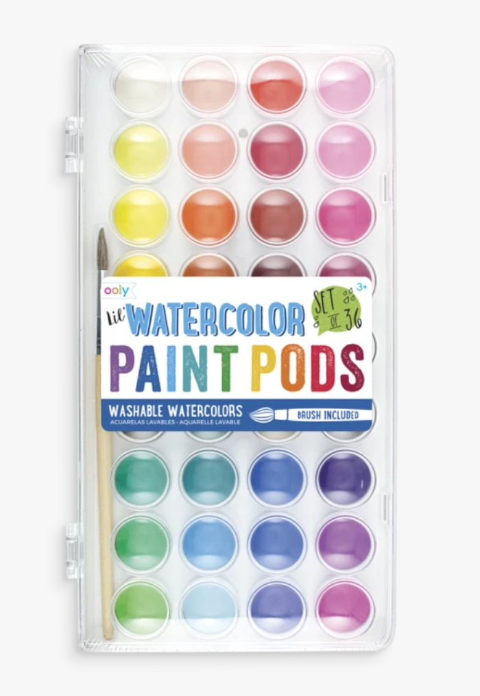 Watercolor Paint Pods - Ooly