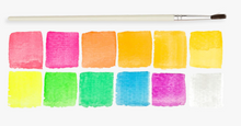 Neon Watercolor Set