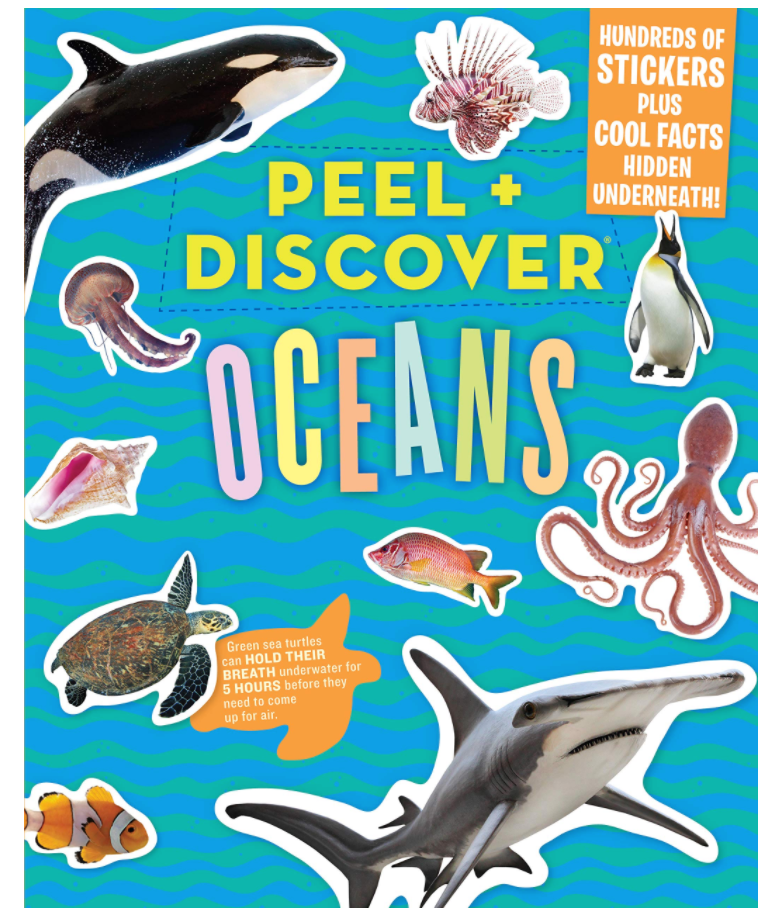 Peel and Discover Oceans