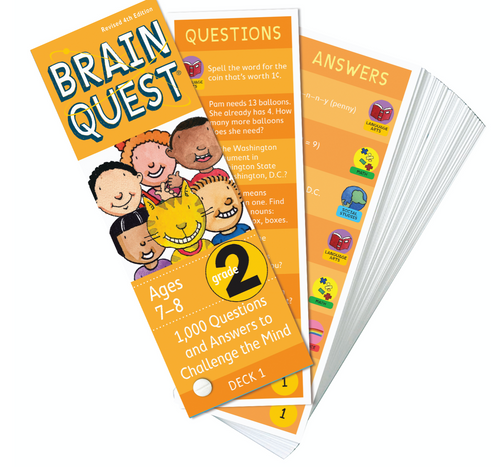 Brain Quest Deck 2nd Grade