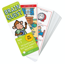 My First Brain Quest Deck Ages 2-3