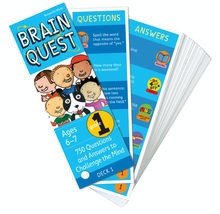 Brain Quest Deck 1st Grade