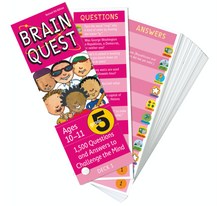 Brain Quest Deck 5th Grade