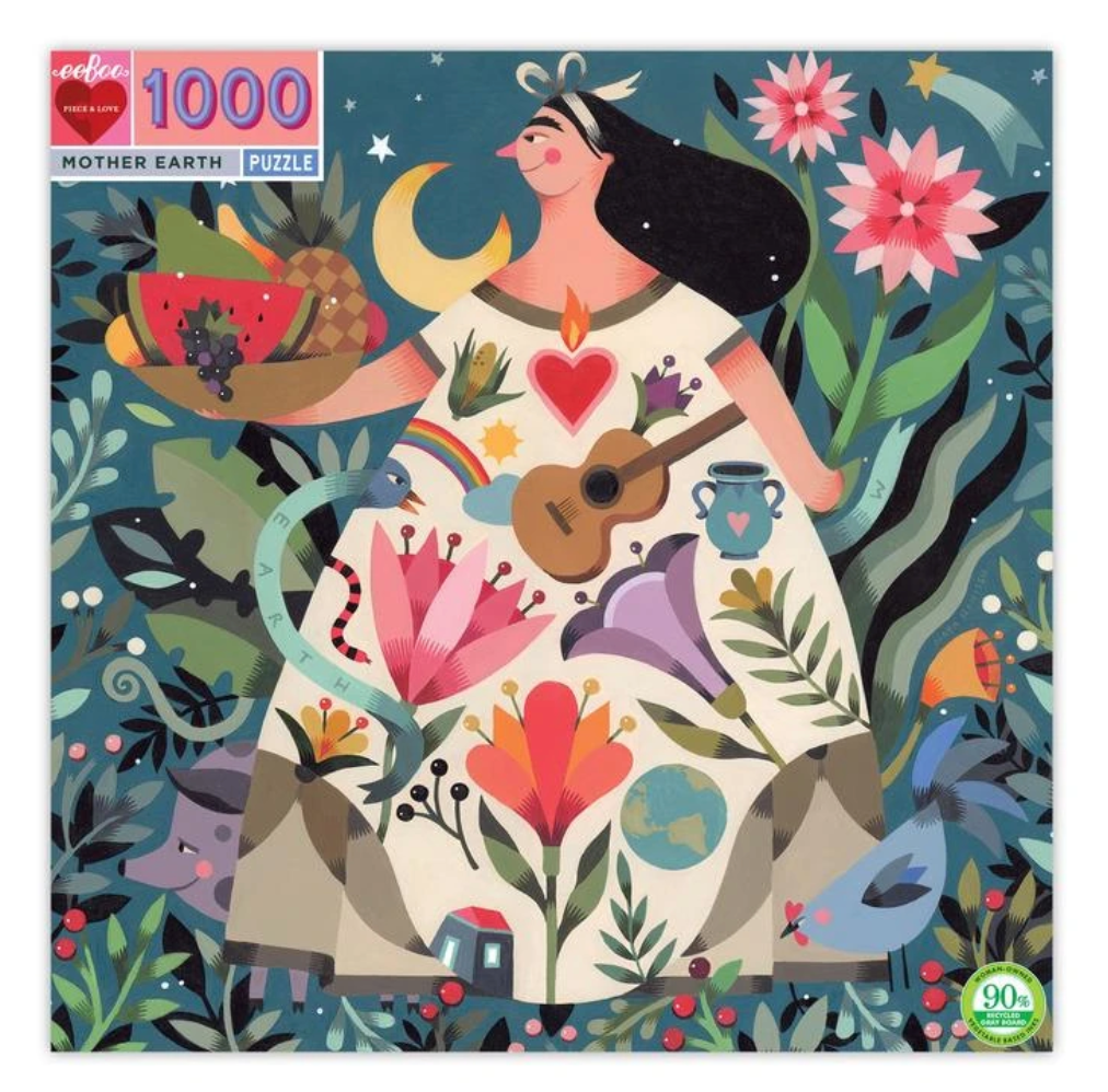 Mother Earth (1000 Piece Puzzle) - eeBoo