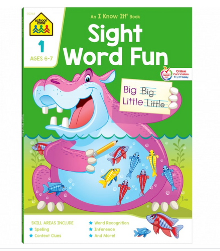 Sight Word Fun Grade 1 (Ages 6-7) - School Zone
