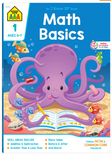 Math Basics Grade 1 (Ages 6-7) - School Zone