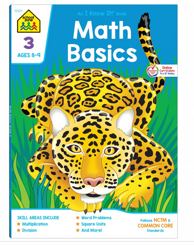 Math Basics Grade 3 (Ages 8-9) - School Zone